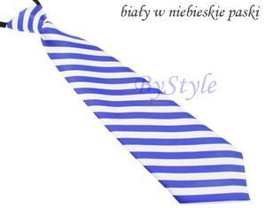 Elegancki satynowy krawat damski - 2822285903