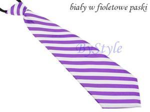 Elegancki satynowy krawat damski - 2822285904