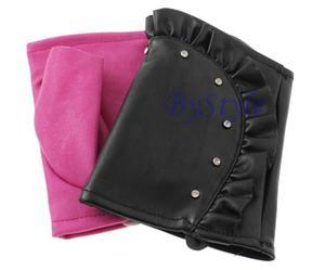 Rękawiczki bez palcy - całuski z falbanami - 2822285905