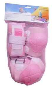 Ochraniacze na rolki B14 różowe junior - 2654402347