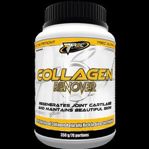 Trec Collagen Renover 350 g truskawka-banan - 2654403542