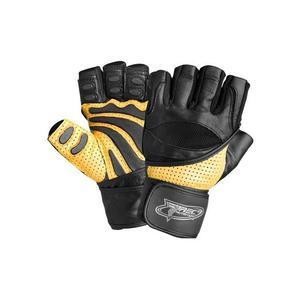 Rękawice kulturystyczne Trec POWER MAX żółto-czarne - 2654404843