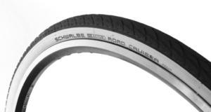Opona rowerowa Schwalbe Road Cruiser 28x1.25 (700x32C) - Czarno-biała - 2654405571