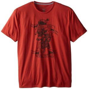 Koszulka T-shirt Fox Pedal Bite Heather Flame red L - 2654408766