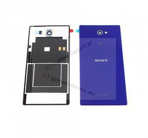 Sony Xperia M2 D2302/D2303/D2305/D2306 - Oryginalna klapka baterii fioletowa - 2822150558