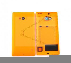 Nokia Lumia 930 - Oryginalna klapka baterii pomarańczowa - 2822150662
