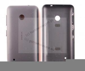 Nokia Lumia 530 - Oryginalna klapka baterii ciemno szara - 2822150720