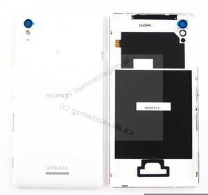Sony Xperia T3 D5102/D5103/D5106 - Oryginalny klapka baterii biała (z NFC) - 2822150761