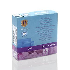 Fotonarożniki Henzo Białe (500 szt.) Fotonarożniki Henzo Białe (500 szt.) - 2825510654