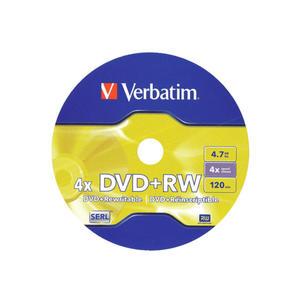 Płyta Verbatim DVD+RW 4x Płyta Verbatim DVD+RW 4x - 2875003115