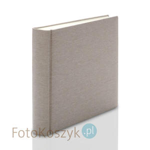 Album introligatorski ER Hand jasne płótno XXL (tradycyjny, 100 kremowych stron) Album...