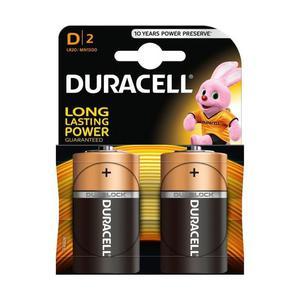 Duracell D Baterie alkaliczne 2 sztuki - 2837406056