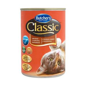 Butcher's Natural Nutrition Classic z wołowiną Kompletna karma 400g - 2846388870