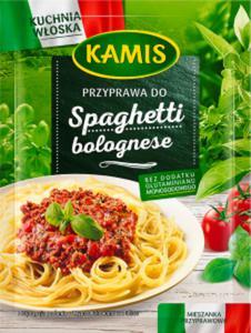 Kamis Kuchnia włoska Przyprawa do spaghetti bolognese Mieszanka przyprawowa 15g - 2862820607