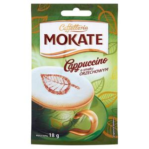 Mokate Caffetteria Cappuccino o smaku orzechowym 18g - 2827389169