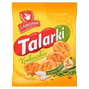 Lajkonik Krakowskie Talarki o smaku cebulki 150g - 2837407011