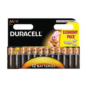 Duracell AA Baterie alkaliczne 12 sztuk - 2837409189