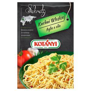 Kotányi Sekrety Kuchni Włoskiej Aglio e olio Mieszanka przypraw 20g - 2837411321