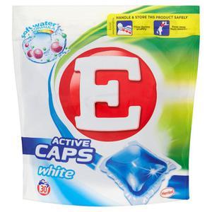 E Active Caps White Kapsułki do prania 600g (30 sztuk) - 2837412549