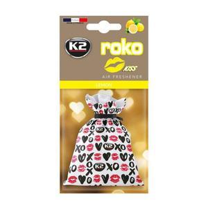 Zapach do samochodu K2 Roko Kiss Lemon 25g - 2852608783