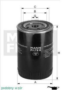 Filtr oleju Mann Renault Scenic 2 - 2829104929