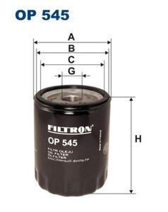 Filtr oleju Filtron Fiat Doblo - 2829105291