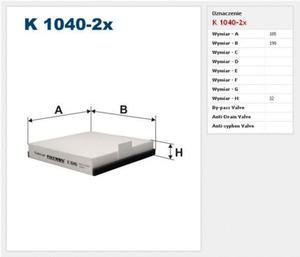 Filtr kabinowy Filtron Renault Espace 3 - 2829105338
