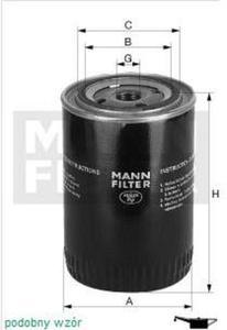 Filtr oleju MANN Volvo C30 - 2829106307