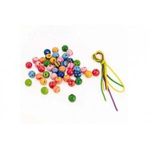 GOKI Zestaw modnych koralików Beads - 2844893677