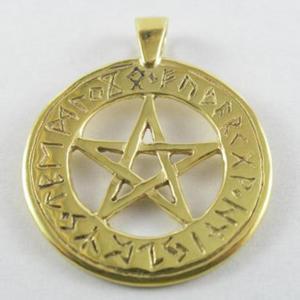 Pentagram z runami - poz - 2827699238