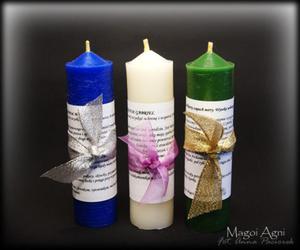 Świece Archanielskie ZESTAW 3 świec  - 2827699917