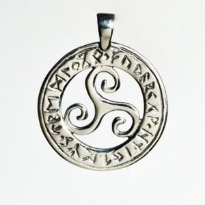 Triskel z runami - 2856442040