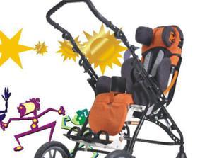 Wózek inwalidzki dziecięcy Gemini 2 /32 - 2847268317