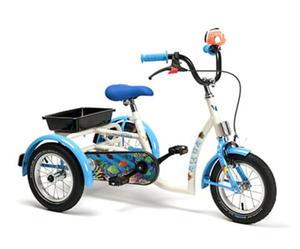 Rower inwalidzki dziecięcy Aqua - 2847268321