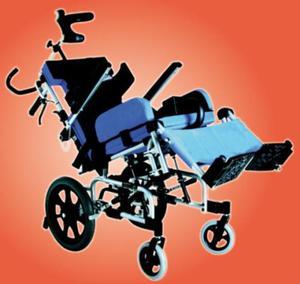 Wózek inwalidzki dziecięcy KARMA KM-CP33 - 2847268372