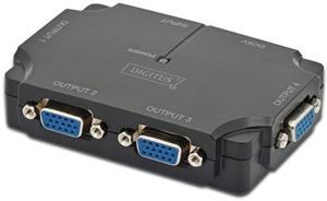 Digitus Mini Splitter VGA 4 porty - 2874991358