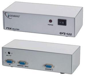Gembird Rozdzielacz VGA 2 porty - 2874991359
