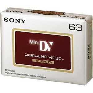 Sony Kaseta DVM63 HDV - 2874991641