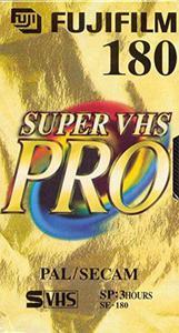 Fuji Kaseta VHS / SVHS 180 - 2874991649