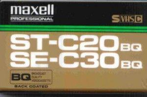 Maxell Kaseta VHS-C SE-C30 BQ - 2874991652