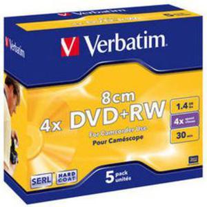 Verbatim Płyta DVD+RW 1,4GB 5 szt. - 2874991669