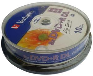 Verbatim Płyta DVD+R DL Printable Cake 10 szt. - 2874991690