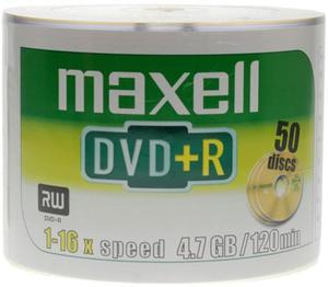 Maxell Płyta DVD+R Spindel 50 szt. - 2874991695