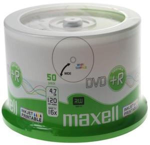 Maxell Płyta DVD+R Printable Cake 50 szt. - 2874991696