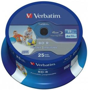 Verbatim Płyta Blu-ray BD-R Printable Cake 25 - 2874991700