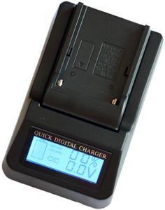Szybka ładowarka LCD SONY NP-FH50/FV50 - 2874992174