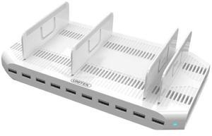 Unitek Stacja ładująca 10 x USB 2,4A 96W Y-2172 - 2874992343