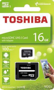 Toshiba Karta pamięci micro SDHC 16GB UHS-I - 2874992497