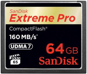 Sandisk Extreme PRO CompactFlash 64GB - 2874992528