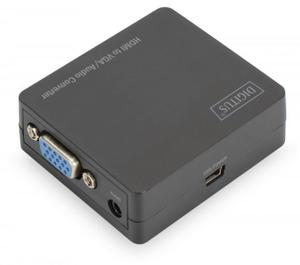 Digitus Konwerter HDMI do VGA z audio DS-40310-1 - 2874992925
